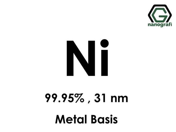 Nickel (Ni) Nanopowder/Nanoparticles, Purity: 99.95%, Size: 31 nm, Metal Basis- NG04EO1704