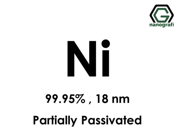 Nickel (Ni) Nanopowder/Nanoparticles, Purity: 99.95%,  Size: 18 nm, Partially Passivated- NG04EO1705