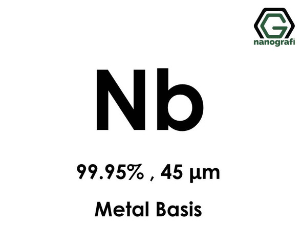 Niobium (Nb) Micron Powder, Purity: 99.95%, Size: 45 µm, Metal Basis- NG04EO1601