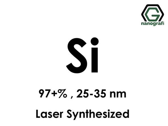 Si(Silicon) Nanoparticles, 97+%, 25-35 nm, Laser Synthesized