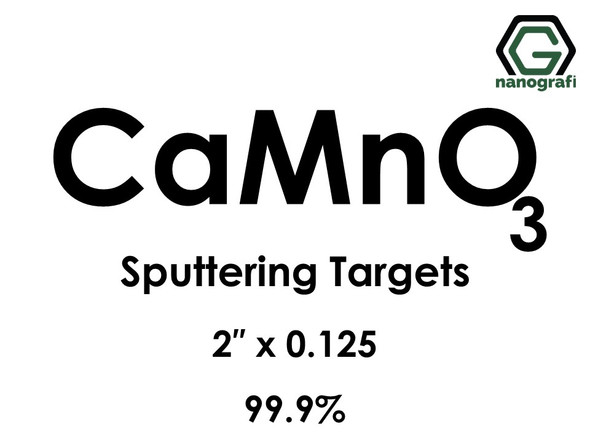 Calcium Manganate (Ca(MnO4)2) Sputtering Targets, Size:1'' ,Thickness:0.250'' , Purity: 99.9%