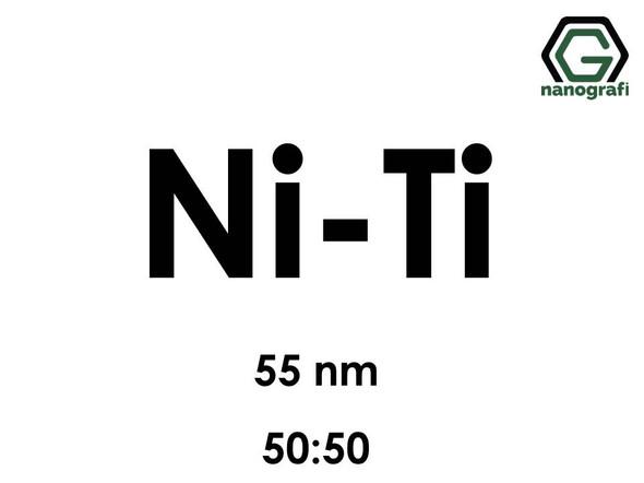 Nickel Titanium (Ni-Ti) Alloy Nanopowder/Nanoparticles, Size: 55 nm, Ni:Ti/50:50- NG04EO2601
