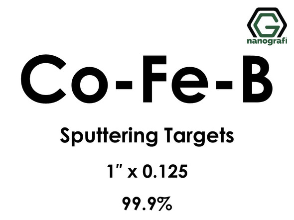Cobalt (Co) Sputtering Targets, Size:8'' ,Thickness:0.250'' , Purity: 99.95%