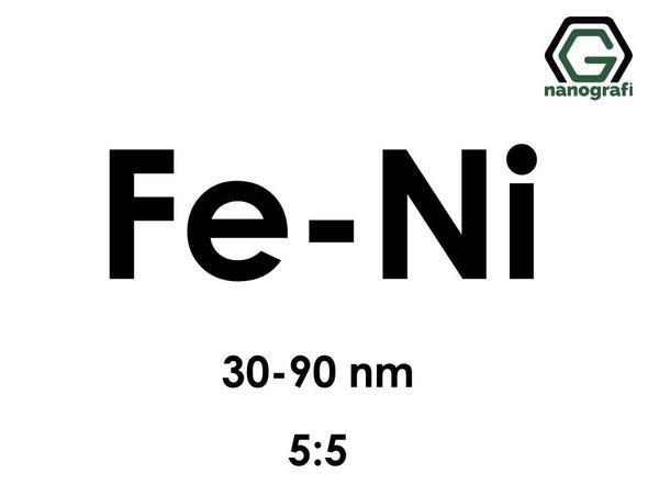 Iron Nickel (Fe-Ni) Alloy Nanopowder/Nanoparticles, Size: 30-90 nm, Fe:Ni/5:5- NG04EO2901