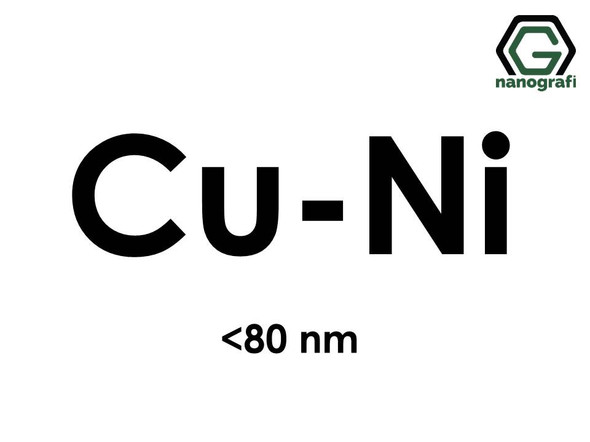 Copper Nickel (Cu-Ni) Alloy Nanopowder/Nanoparticles, Size: < 80 nm- NG04EO3801