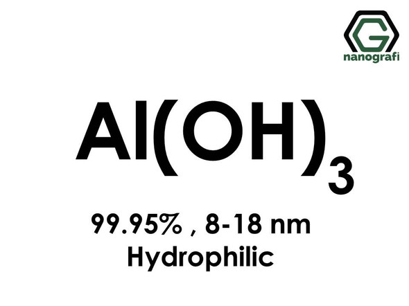 Aluminium Hydroxide (Al(OH)3) Nanopowder/Nanoparticles, High Purity: 99.95%, Size: 8-18 nm, Hydrophilic- NG04SO0201