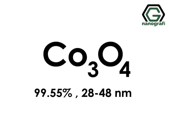 Cobalt Oxide (Co3O4) Nanopowder/Nanoparticles, High Purity: 99.55%, Size: 28-48 nm- NG04SO0701