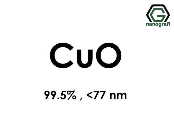 Copper Oxide (CuO) Nanopowder/Nanoparticles, Purity: 99.5%, Size: < 77 nm