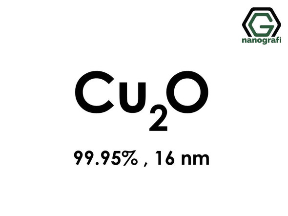 Cuprous Oxide (Cu2O) Nanopowder/Nanoparticles, Purity: 99.95%, Size: 16 nm
