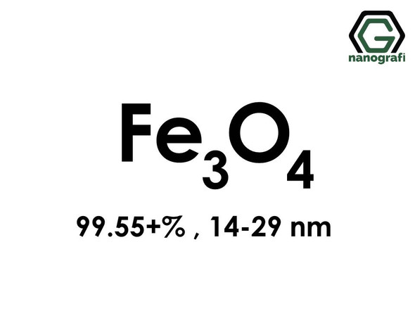 Iron Oxide (Fe3O4) Nanopowder/Nanoparticles, High Purity: 99.55+%, Size: 14-29 nm- NG04SO1501