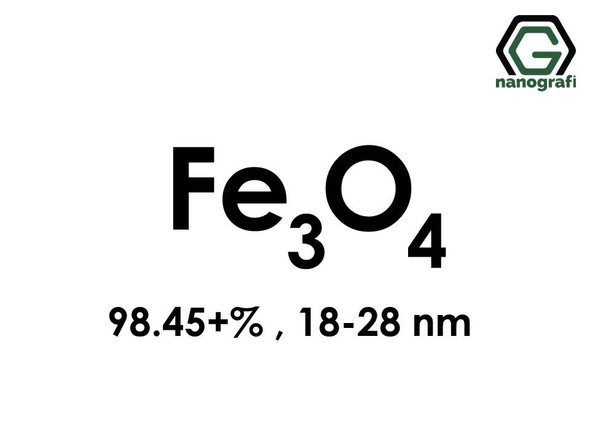 Iron Oxide (Fe3O4) Nanopowder/Nanoparticles, Purity: 98.45+%, Size: 18-28 nm- NG04SO1502