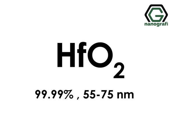 Hafnium Oxide (HfO2) Nanopowder/Nanoparticles, High Purity: 99.99%, Size: 55-75 nm- NG04SO1701