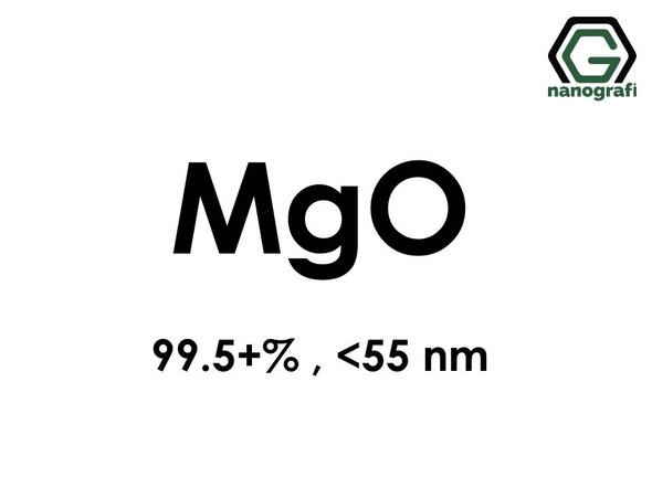 Magnesium Oxide (MgO) Nanopowder/Nanoparticles, Purity: 99.5+%, Size: < 55 nm- NG04SO2102