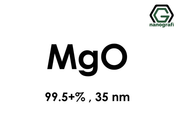 Magnesium Oxide (MgO) Nanopowder/Nanoparticles, Purity: 99.5+%, Size: 35 nm- NG04SO2104