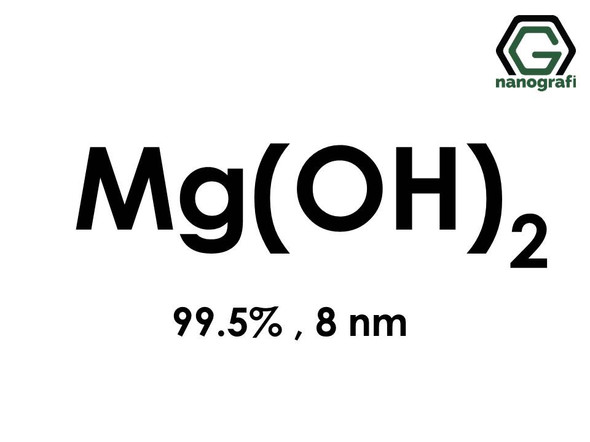 Magnesium Hydroxide (Mg(OH)2) Nanopowder/Nanoparticles, Purity: 99.5%, Size: 8 nm- NG04SO2201