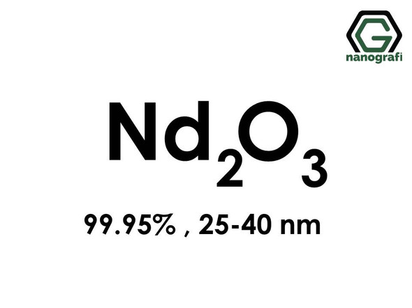 Neodymium Oxide (Nd2O3) Nanopowder/Nanoparticles, Purity: 99.95%, Size: 25-40 nm- NG04SO2601