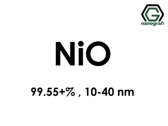 Nickel Oxide (NiO) Nanopowder/Nanoparticles, High Purity: 99.55+%, Size: 10-40 nm- NG04SO2802