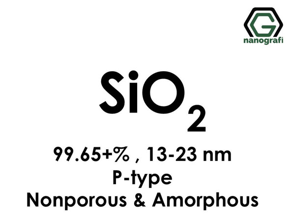 Silicon Dioxide (SiO2) Nanopowder/Nanoparticles, P-type, Purity: 99.65+%, Size: 13-23 nm, Nonporous and Amorphous- NG04SO3102