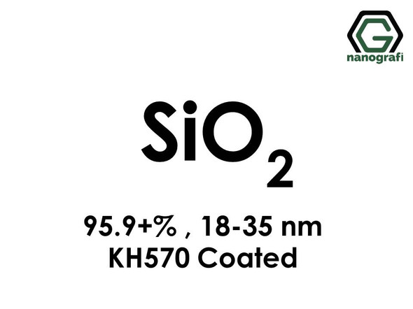 Silicon Dioxide (SiO2) Nanopowder/Nanoparticles, Purity: 95.9+%, Size: 18-35 nm, KH570 Coated - NG04SO3105