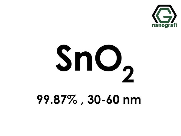 Tin Oxide (SnO2) Nanopowder/Nanoparticles, High Purity: 99.87%, Size: 30-60 nm- NG04SO3301