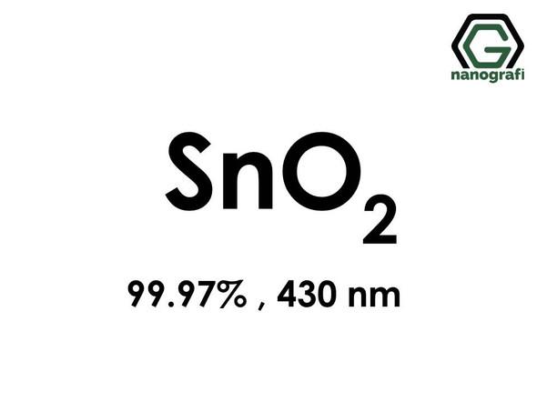 Tin Oxide (SnO2) Nanopowder/Nanoparticles, Purity: 99.97%, Size: 430 nm- NG04SO3303