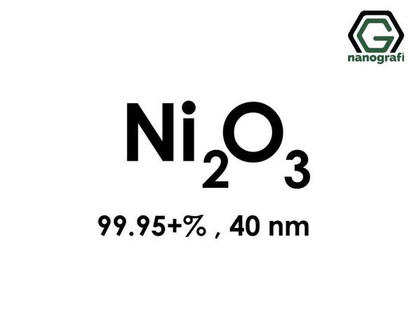 Nickel (III) Oxide (Ni2O3) Nanopowder/Nanoparticles, Purity: 99.95+ %, Size: 40 nm