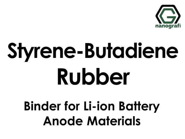 Styrene-Butadiene Rubber (SBR) Binder for Li-ion Battery Anode Materials