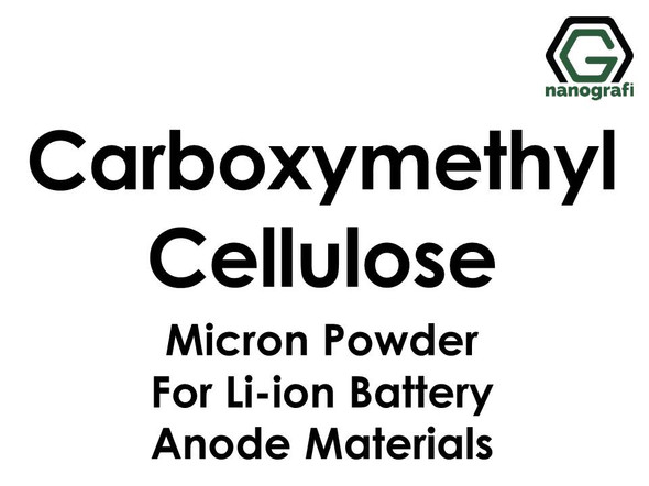 Carboxymethyl Cellulose (CMC) Micron Powder for Li-ion Battery Anode Materials
