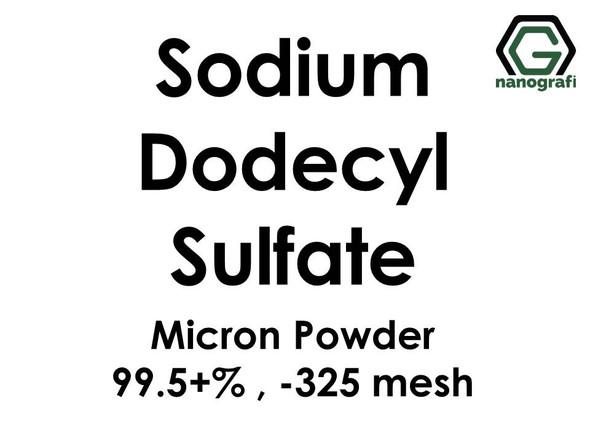 Sodium Dodecyl Sulfate Micron Powder, -325 mesh