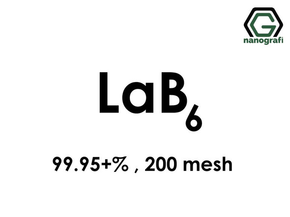 Lanthanum Hexaboride (LaB6) Micro particles, High Purity: 99.95+%, Size: 200 mesh