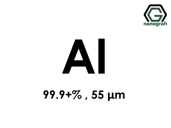Aluminum (Al) Micron Powder, Purity: 99.9+ %, Size: 55µm