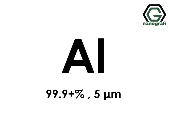 Aluminum (Al) Micron Powder, Purity: 99.9+ %, Size: 5µm