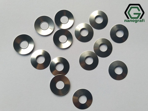 304SS Coin Cell Conical Spring for CR2032, Diameter: 15.4 mm, Height: 1.1 mm, Thickness: 0.25 mm