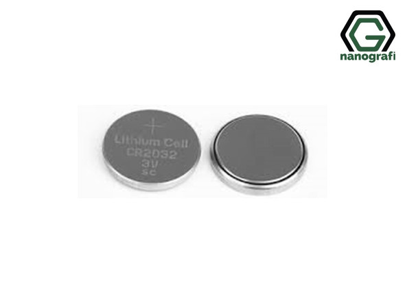 CR2032 Coin Cell Cases with 316SS, Diameter: 20 mm, Height: 3.2 mm