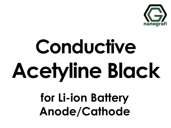 Conductive Acetylene Black for Li-ion Battery Anode/Cathode