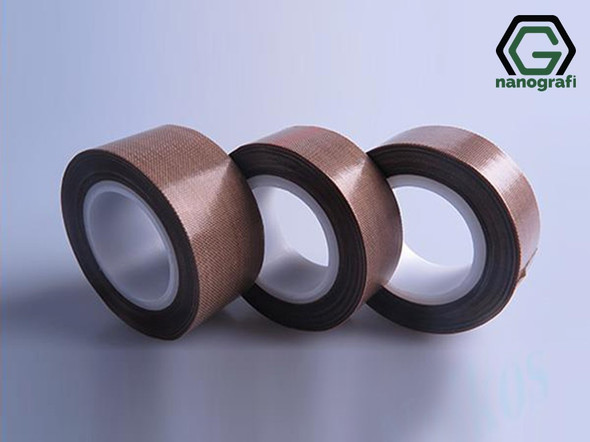 High Temperature Teflon Tape for Lithium Battery, Width: 19 mm, Thickness: 0.13 mm, Length: 10 m