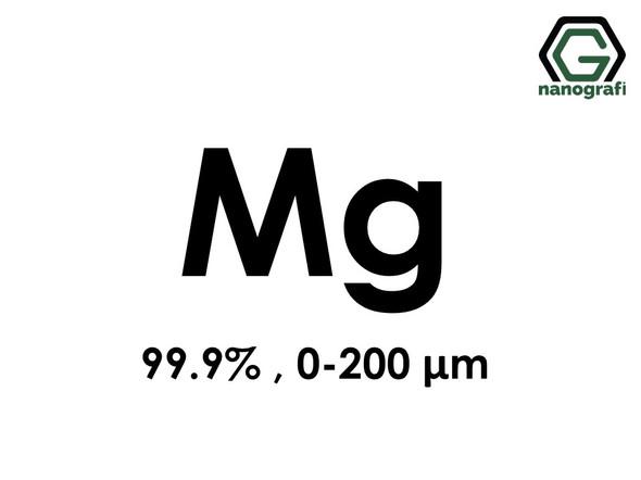 Magnesium (Mg) Micron Powder, Purity: 99.9%, Size: 0-200 µm