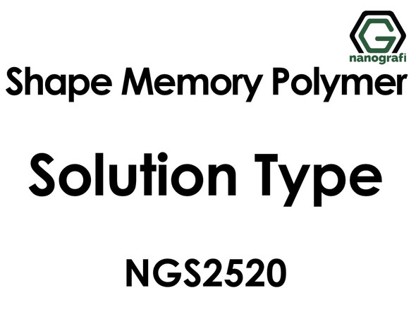 Shape Memory Polymer NGS2520, Solution Type