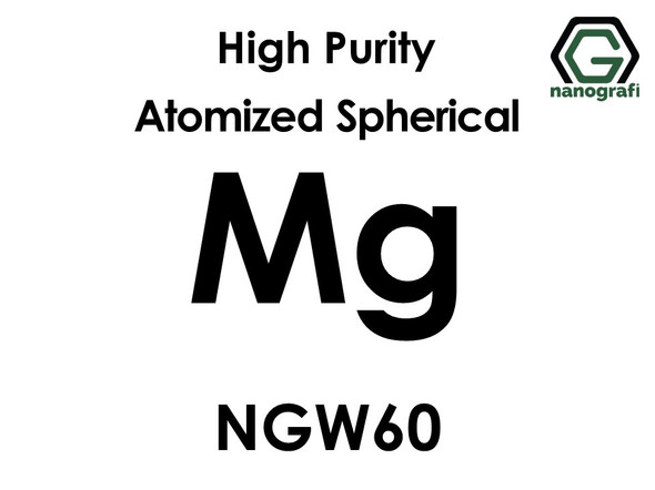 High Purity Atomized Spherical Magnesium (Mg) Powder NGW60