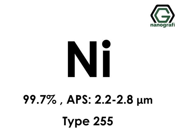 Nickel (Ni) Micron Powder Type 255, Purity: >99.7 %, APS: 2.2–2.8 μm