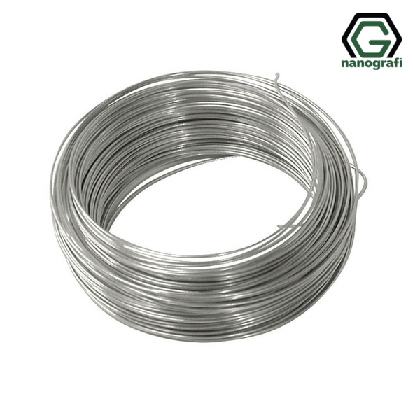 Nitinol Shape Memory Alloy Wire, Diameter: 1 mm, AF: 45-50°C