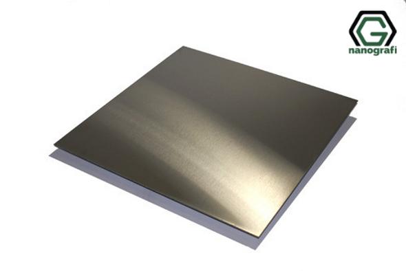 Nitinol Shape Memory Alloy Sheet, Thickness: 1 mm, AF: 50-55°C