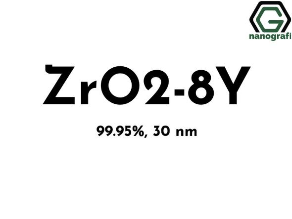 Zirconia-Yttria Nanopowder/Nanoparticles, ZrO2-8Y, Purity: 99.95%, Size: 30 nm