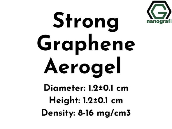 Strong Graphene Aerogel,  Diameter: 1.2±0.1 cm, Height: 1.2±0.1 cm
