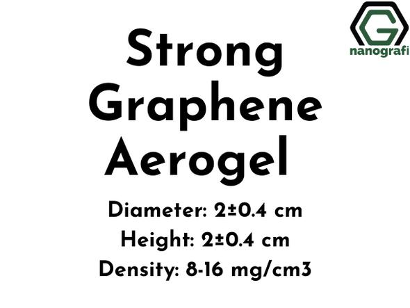 Strong Graphene Aerogel,  Diameter: 2±0.4 cm, Height: 2±0.4 cm