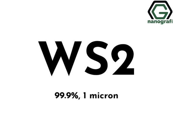 Tungsten Disulfide (WS2) Micron Powder, Purity: 99.9%, Size: 1 µm