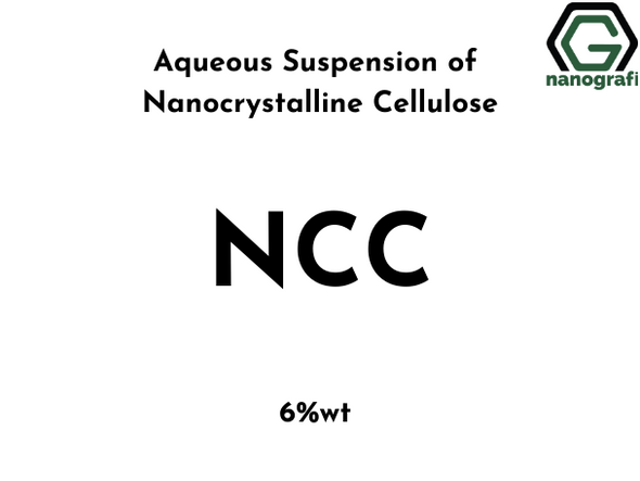 Aqueous Suspension of Nanocrystalline Cellulose (NCC), 6%wt