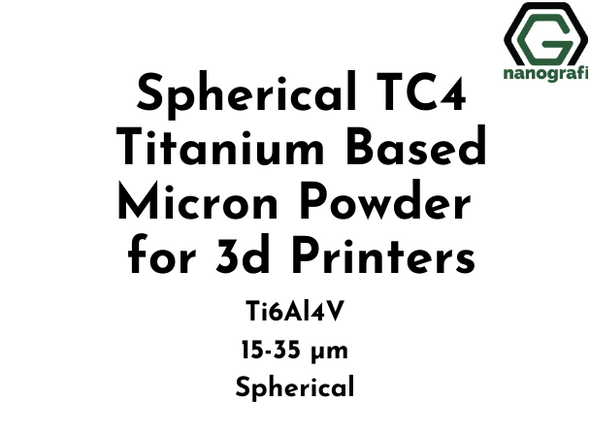 Spherical TC4 Titanium Based Micron Powder for 3d Printers, Ti6Al4V, 15-35 µm, Spherical