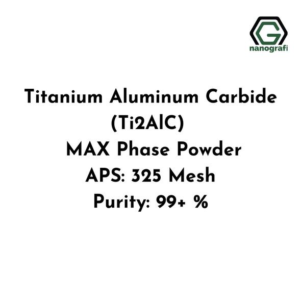 Titanium Aluminum Carbide (Ti2AlC) MAX Phase Powder, APS: 325 Mesh, Purity: 99+ %
