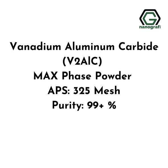 Vanadium Aluminum Carbide (V2AlC) MAX Phase Powder, APS: 325 Mesh, Purity: 99+ %